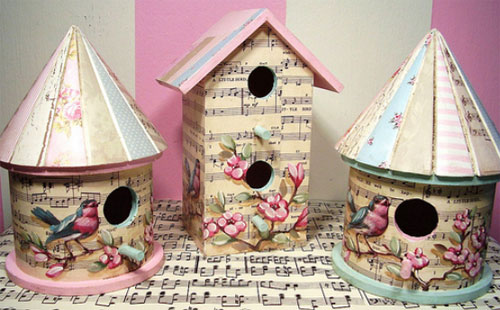 Bird houses  Sweet vintage by Jenny and Aaron