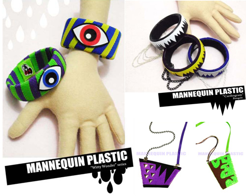 tre  Plush jewelry by Mannequin Plastic