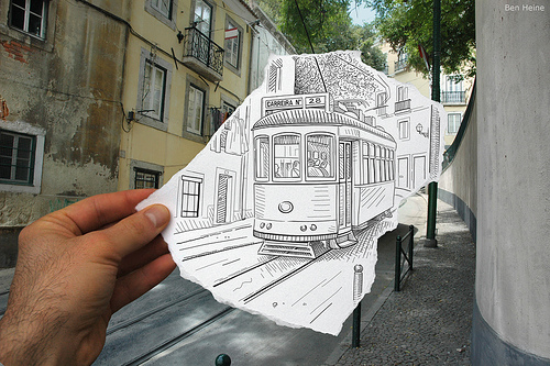 pencilVScamera by Ben Heine  Inspirational finds
