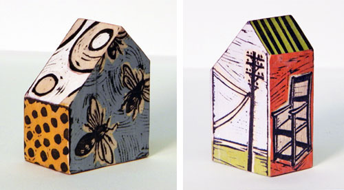 Lisa Kesler45  Lisa Kesler and her wooden houses