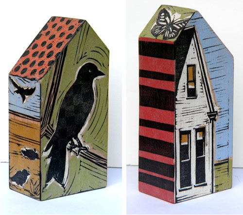 Lisa Kesler67  Lisa Kesler and her wooden houses