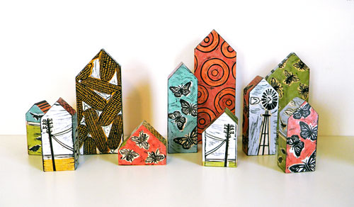 Lisa Kesler8  Lisa Kesler and her wooden houses