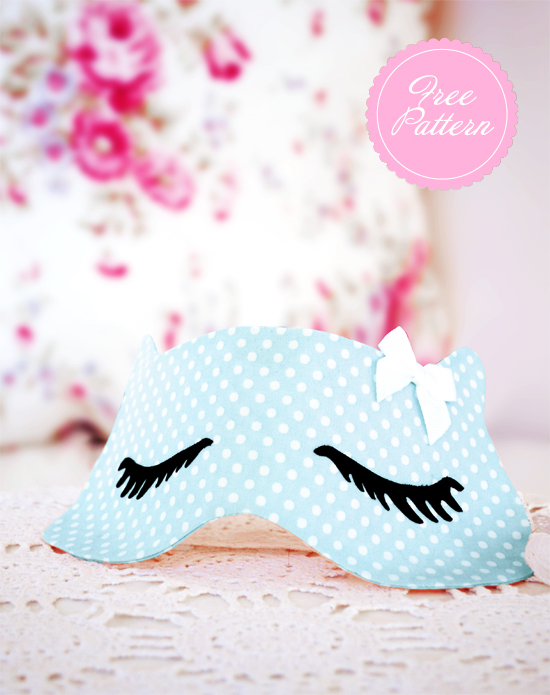 Sewing pattern: Pussycat sleep mask