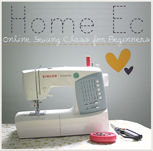 home ec intro  Online sewing class for beginners!