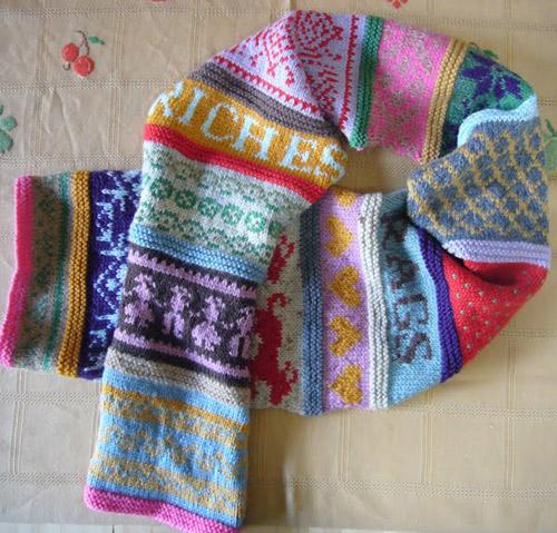 confetti riches scarf 2  Sandra Eterovic