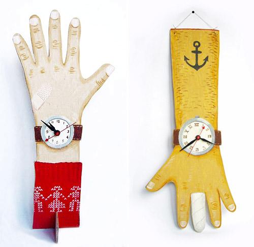 hands clocks  Sandra Eterovic