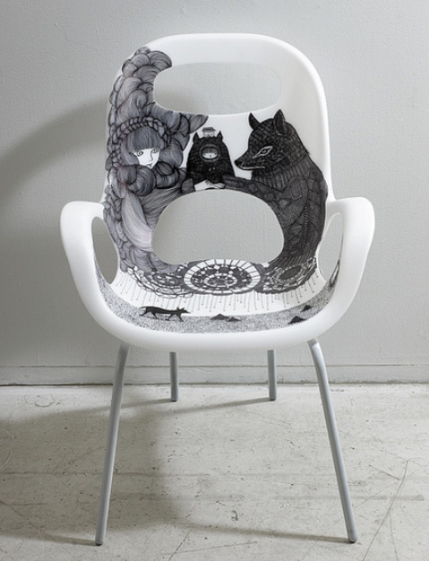 Ani Castillo2  Chairs with an handmade touch