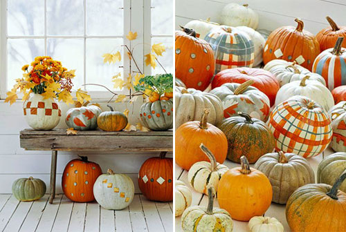 OK painted by alifesdesign  15 ideas and tutorials for your crafty pumpkins