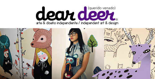 banner  Indie Craft Shop: Dear Deer (México)