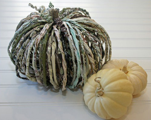 paper pumpkin tutorial 1 by u createcrafts com  15 ideas and tutorials for your crafty pumpkins