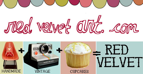 banner  Indie Craft Shop: Red Velvet Art (Missouri – USA)