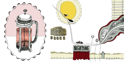 sloe gin fizz  Guest post: 5 Fine Art Favorites from Papernstitch