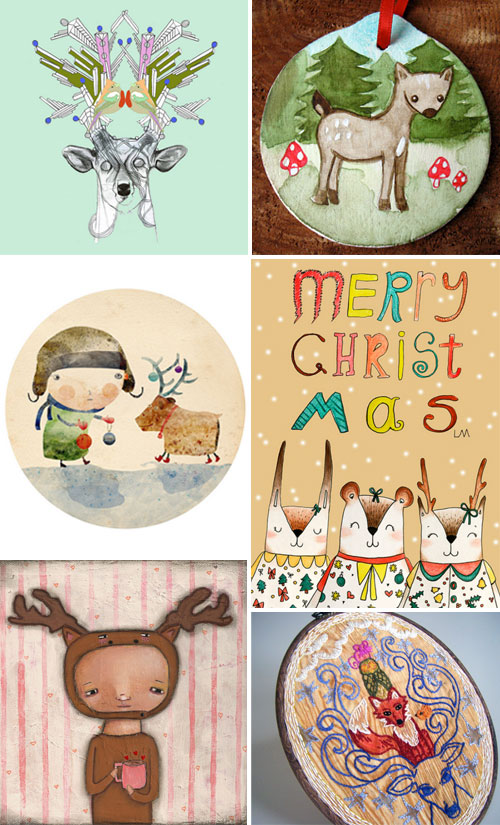 tile3  IB Flickr Group picks: Animals who love Christmas