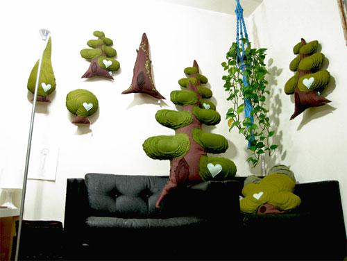 studio  Hi Tree, handmade green love