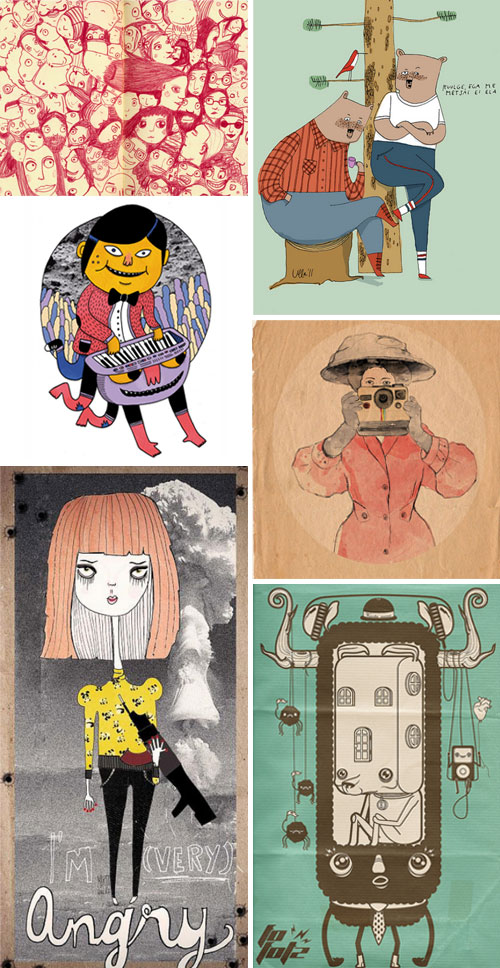 tile22  IB Flickr Group Picks: Illustrations that tell a story