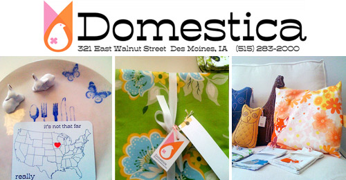 Domestica shop  Indie Craft Shop: Domestica (USA)