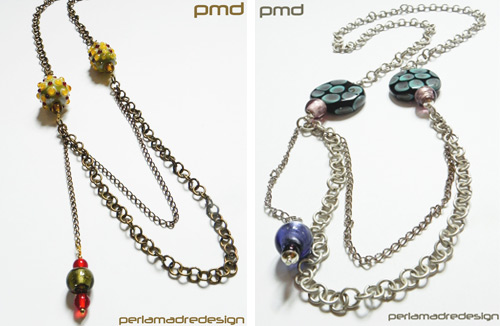 necklaces  Giveaway by Perlamadre Design