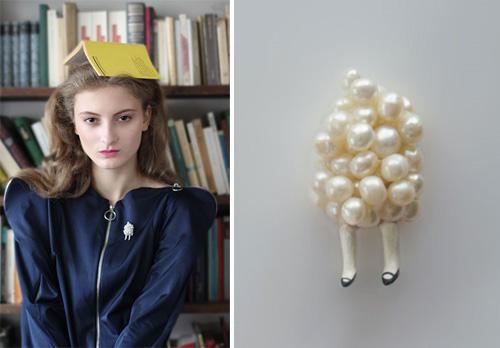Hair Sock by Ruta Kiskyte2  Hair Sock by Ruta Kiskyte: between art and design