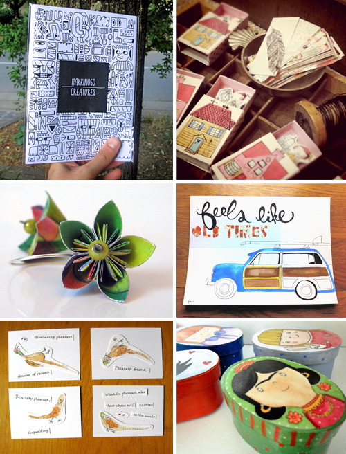 Handmade with paper 1  IB Flickr Group picks: Let's work with paper!