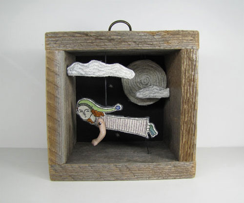 11  Cindy Steiler, telling stories through embroidery