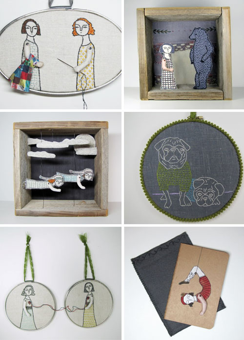 31  Cindy Steiler, telling stories through embroidery