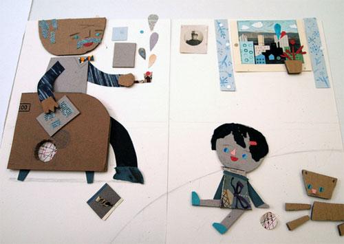 Blanca Helga3 paper friends  The Paper Friends by Blanca Helga