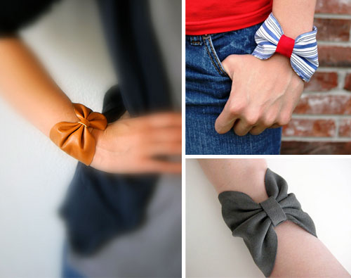 Bow bracelets by 3crafters  10 DIY tutorials for the most fashionable bracelets of the moment