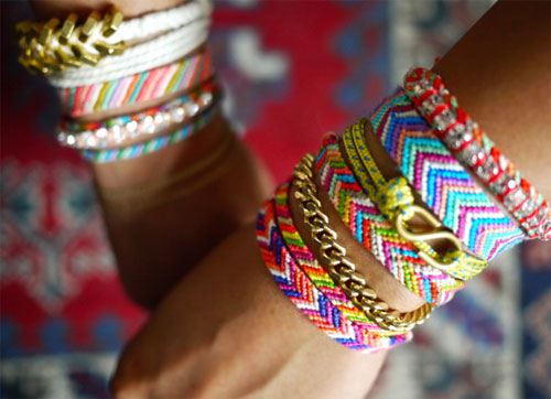 friendship bracelets by honestlywtf  10 DIY tutorials for the most fashionable bracelets of the moment
