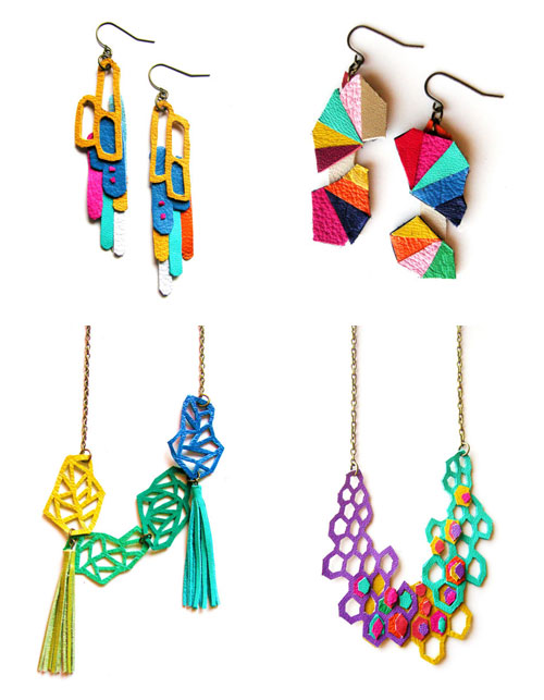 BooandBooFactory  Geometric Wow series: Jewelry