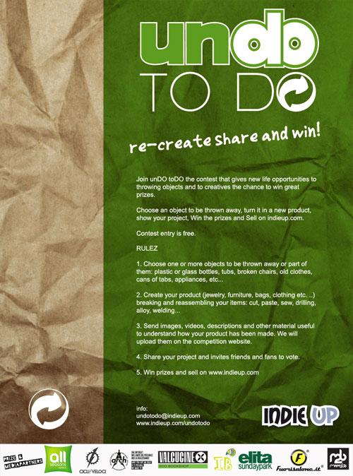UNDOTODO english  UnDoToDO – The Creative Contest at IndieUp