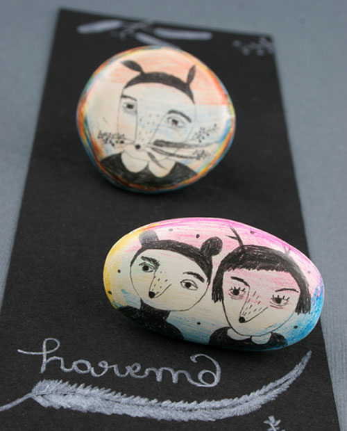 Handmade brooches by Harem6  IB Flickr group picks: Things I would buy