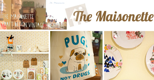 The Maisonette Indie Craft Shop banner  Indie Craft Shop: The Maisonette (UK)
