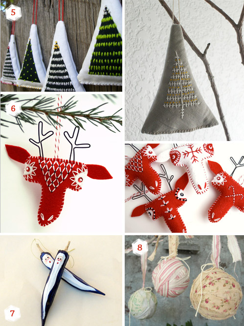 11 Christmas ornaments ideas for your special handmade holidays