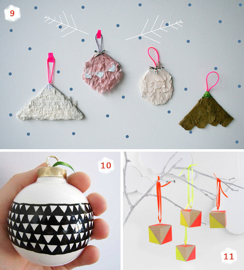 Handmade Christmas Ornaments 3  11 Christmas ornaments ideas for your special handmade holidays