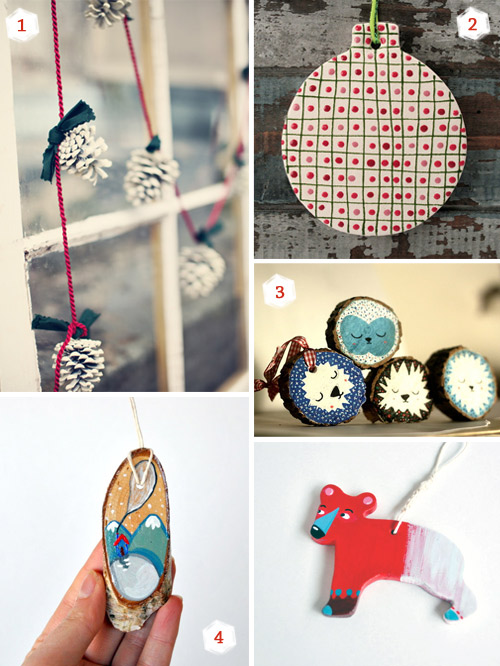Handmade Christmas Ornaments1  11 Christmas ornaments ideas for your special handmade holidays