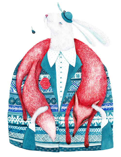 Illustration by Madalina Andronic  An illustrator to be discovered: Madalina Andronic