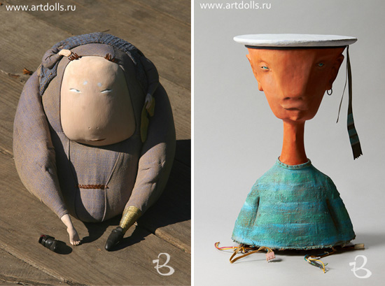 Sculptures and art dolls by Dima RV 3  Sculptures and art dolls by Dima RV