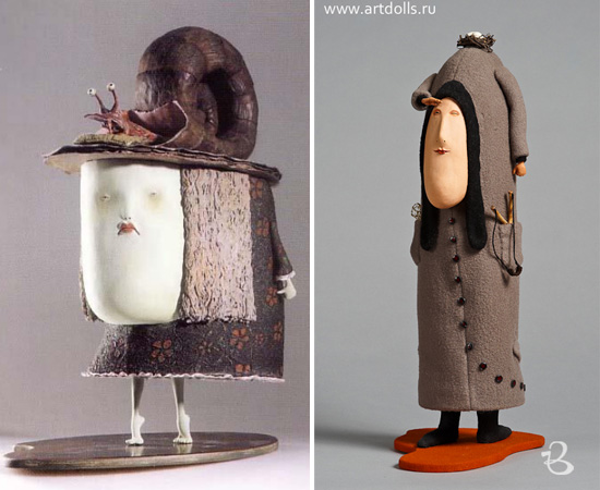 Sculptures and art dolls by Dima RV 4  Sculptures and art dolls by Dima RV