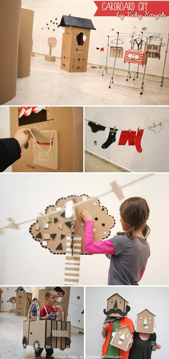 Cardboard City by Vicky Knysh  The creative world of Vicky Knysh
