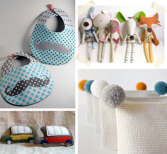 Handmade creations collection For the kids by Imaginative Bloom  IB Flickr Group picks: For the kids!