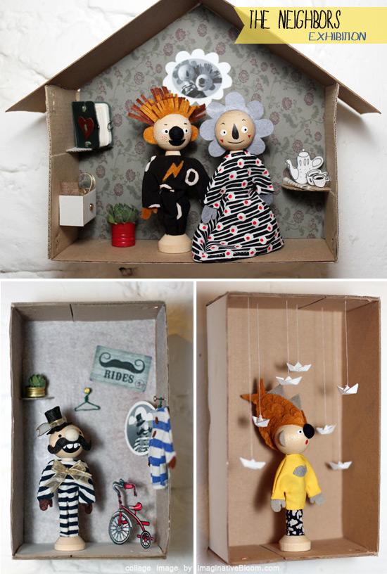 The Neighbors exhibition by Vicky Knysh  The creative world of Vicky Knysh