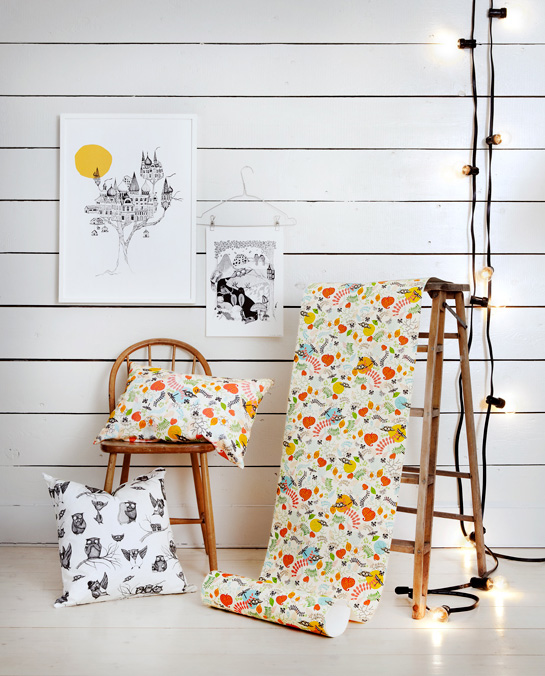 Handmade home accessories from Sweden by Mini Empire 2  Illustrated design from Sweden by Mini Empire