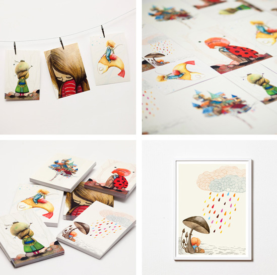 Handmade home accessories from Sweden by Mini Empire 3  Illustrated design from Sweden by Mini Empire