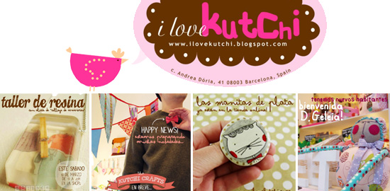 I Love Kutchi shop banner on Imaginative Bloom  Indie Craft Shop: I Love Kutchi (Spain)