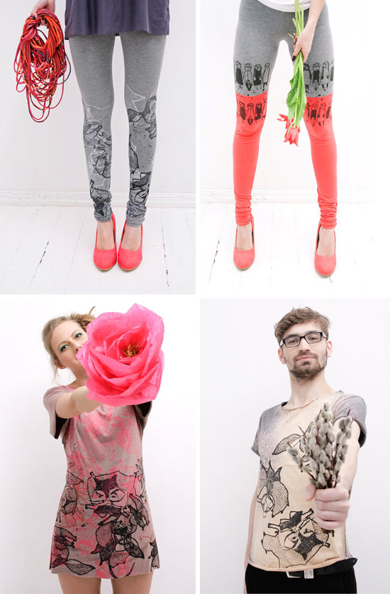 Screen printed leggings and T shirts by ZIB Textile  ZIB Textile – Screen printed leggings, T-shirts and collars