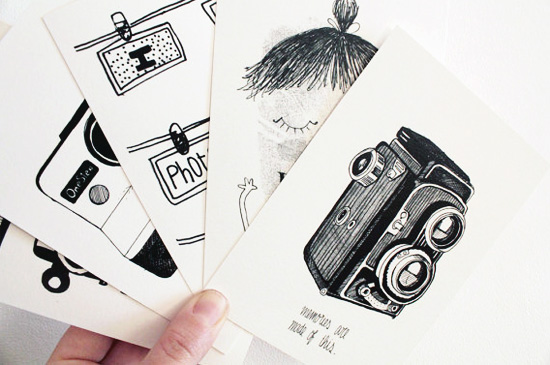 Photography postcards by Oupas Design  Boxes of wonders and cardboards by Oupas! Design
