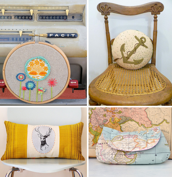 Styling your home with a crafty touch Handmade collection at Imaginative Bloom  IB Flickr group picks: Styling your home with a crafty touch