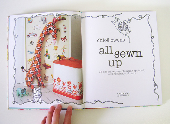 All Sewn Up book George the giraffe plush project  All Sewn Up book by Chloe Owens