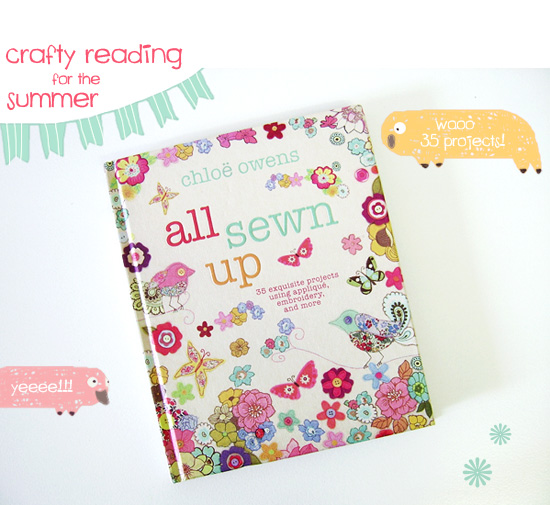 All sewn Up book review 35 DIY craft projects1  All Sewn Up book by Chloe Owens