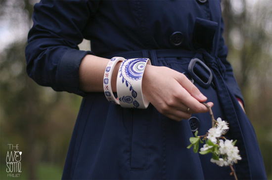 Handmade porcelain bangles The Awesome Project The Awesome Project – Handmade porcelain journey from Romania